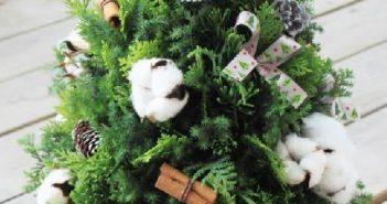 手作聖誕樹 花藝課程